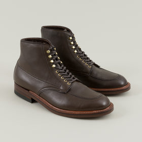Alden Indy Boot Olive Brown Calfskin Image #1