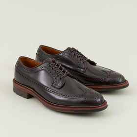 Long Wing Blucher, Color 8 Shell Cordovan
