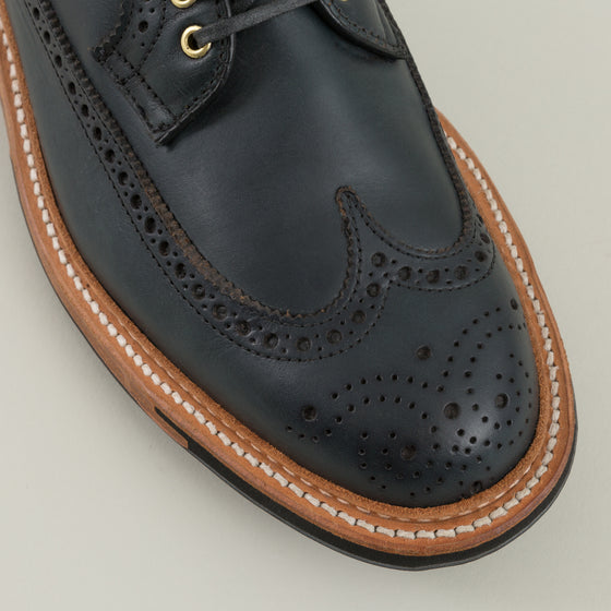 Alden Long Wing Blucher Navy Blue Chromexcel Image #1