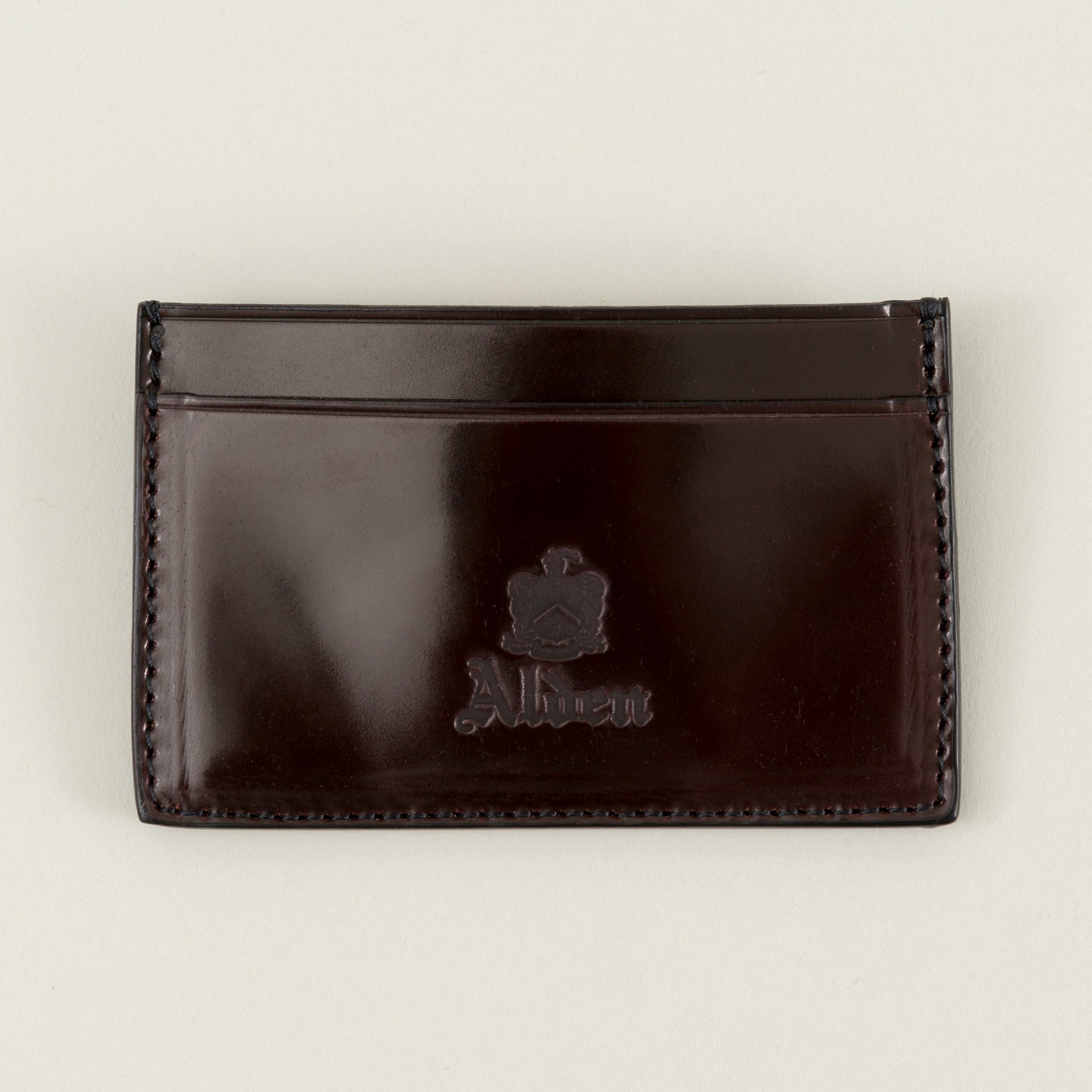 hot sale online a2ee4 37a5c Mini Card Case, Color 8 Shell Cordovan