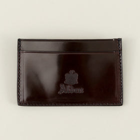 Alden Mini Card Case Color 8 Shell Cordovan Image #1