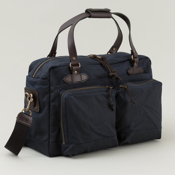 Filson 48 Hour Tin Cloth Duffle Bag Navy Image #1
