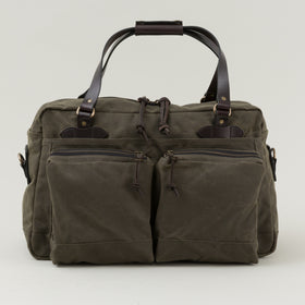 Filson 48 Hour Tin Cloth Duffle Bag Otter Green Image #1