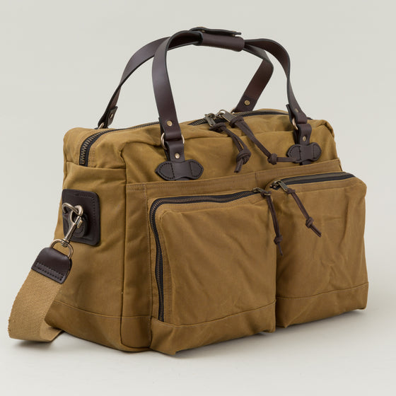 Filson 48 Hour Tin Cloth Duffle Bag Tan Image #1