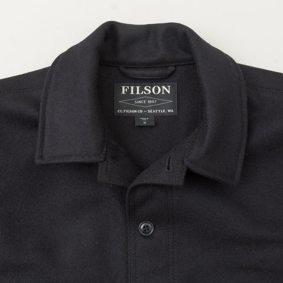 Filson Mackinaw Wool Cruiser Jacket Dark Navy Image #1
