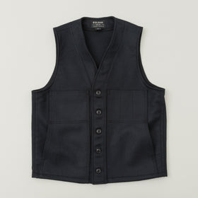 Filson Mackinaw Wool Vest Navy Image #1
