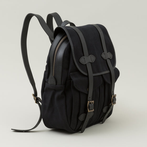 Filson Rugged Twill Rucksack Black Image #1