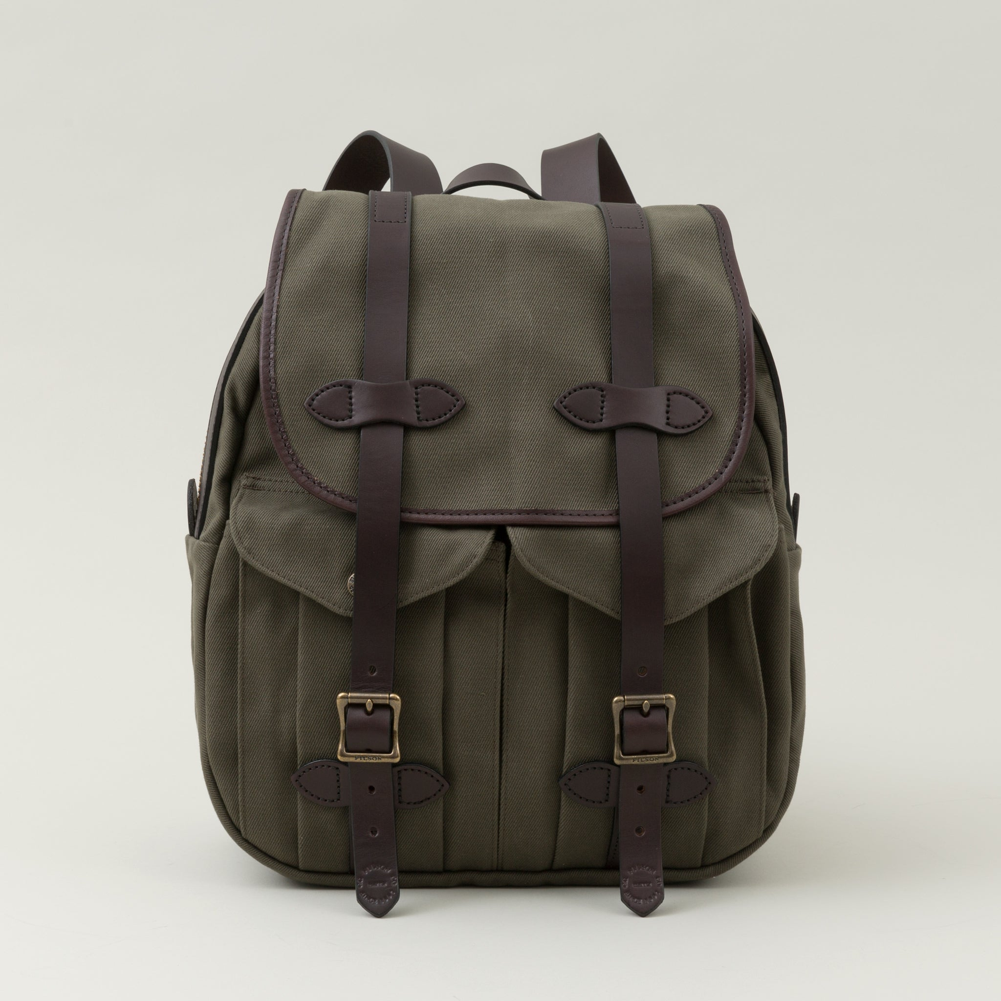 Rugged Twill Rucksack, Otter Green - The Stronghold 8cf9f2840a