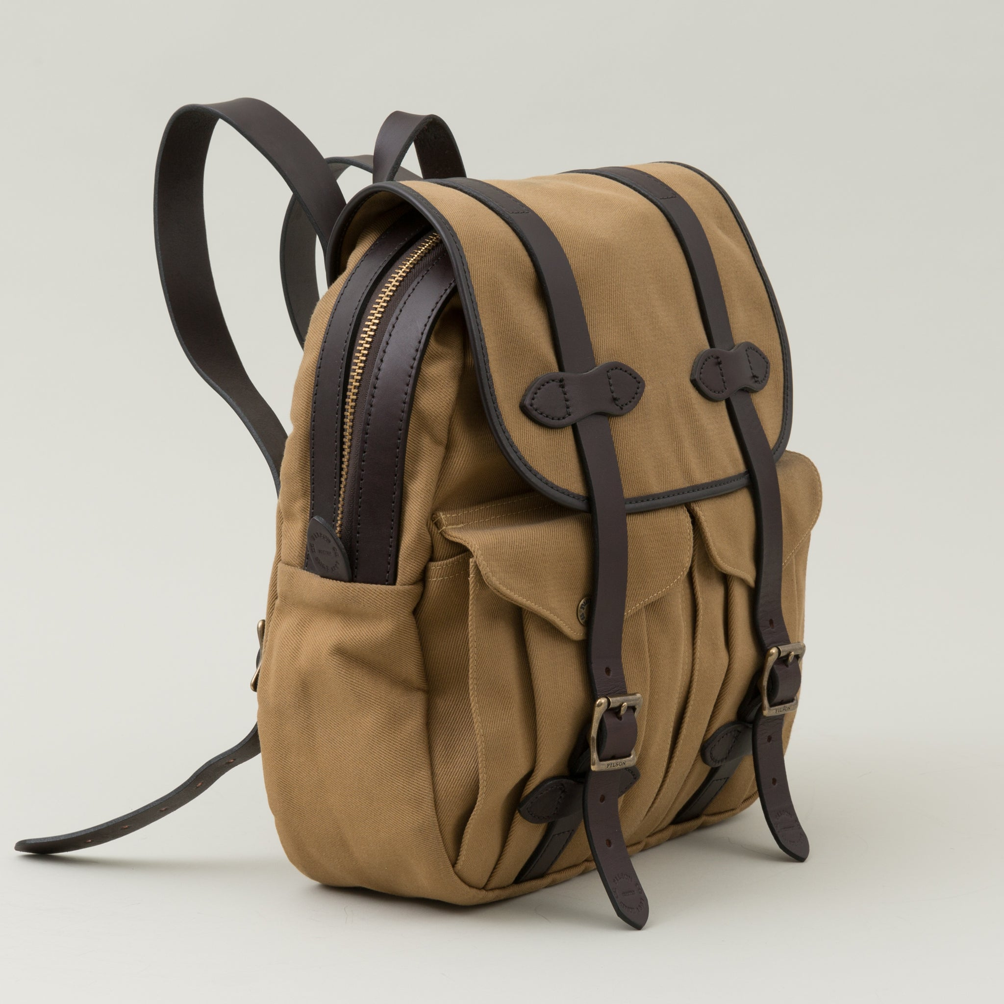 Rugged Twill Rucksack, Tan - The Stronghold 47d8bab01f