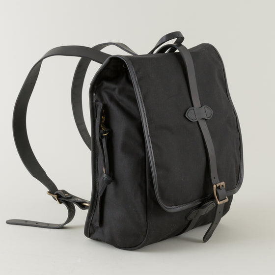 Filson Tin Cloth Backpack Black Image #1