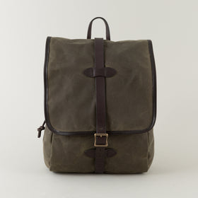 Filson Tin Cloth Backpack Otter Green Image #1