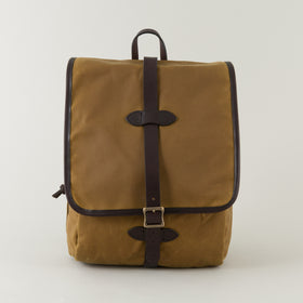 Filson Tin Cloth Backpack Tan Image #1