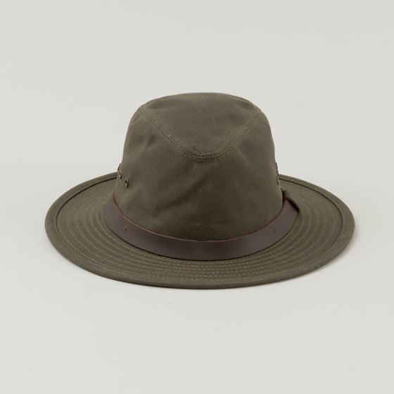 Filson Tin Cloth Packer Hat Otter Green Image #1