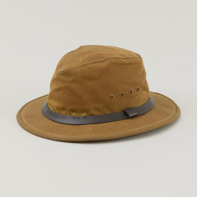 Filson Tin Cloth Packer Hat Tan Image #1