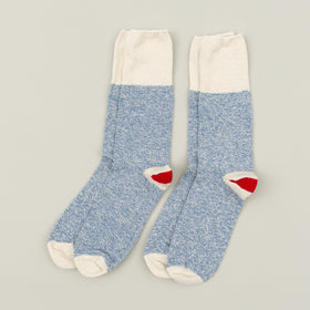 Fox River Rockford Red Heel Socks Blue Image #2