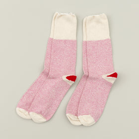 Fox River Rockford Red Heel Socks Pink Image #2