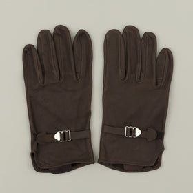 Geier Glove Deerskin Strap Gloves Brown Image #1