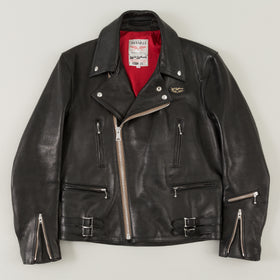 Lewis Leathers The Lightning 391 Black Sheepskin Image #1