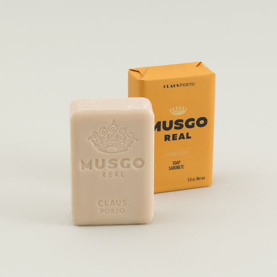 Musgo Real Bar Soap Orange Amber Image #1