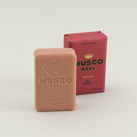 Musgo Real Bar Soap Spiced Citrus Image #1