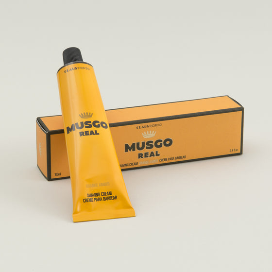 Musgo Real Shaving Cream Orange Amber Image #1