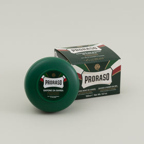 Proraso Shave Soap Refreshing Toning Green Image #1