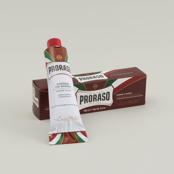 Proraso Shaving Cream Moisturizing Nourishing Red Image #1