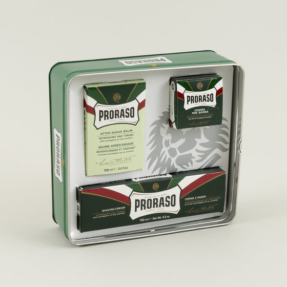 Proraso Vintage Artwork Tin Box Set Refreshing Toning Image #1