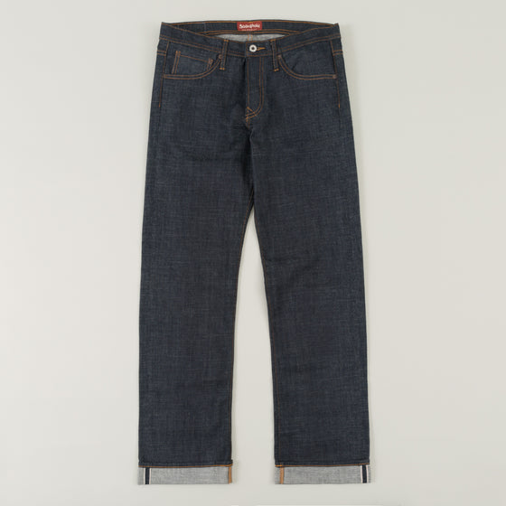 The Stronghold Jeans Heritage Fit 10 5 Oz Indigo Selvage Denim Image #1