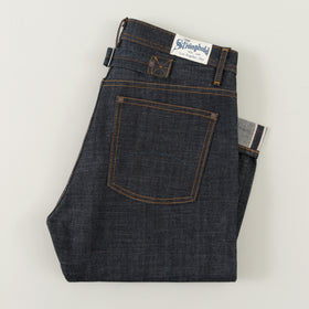 Heritage Fit, 12.5 oz Indigo Selvedge Denim DM100
