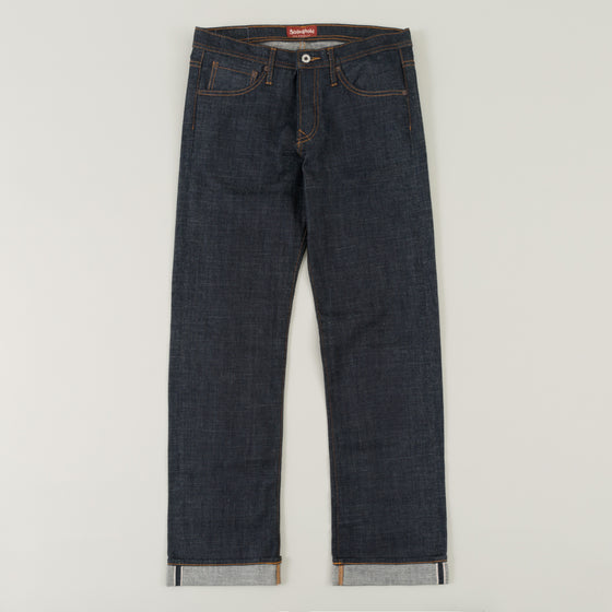 Heritage Fit, 12.5 oz Indigo Selvedge Denim