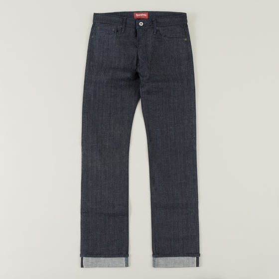 The Stronghold Jeans Original Fit 10 5 Oz Indigo Selvage Denim W Indigo Stitching Image #1
