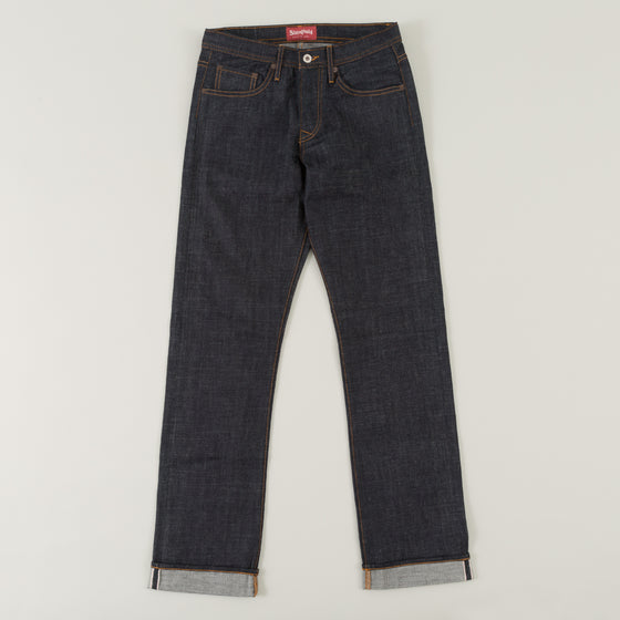 The Stronghold Jeans Original Fit 10 5 Oz Indigo Selvage Denim W Spice Stitching Image #1