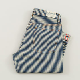 The Stronghold Jeans Original Fit 11 5 Oz Hickory Stripe Selvage Denim Image #1