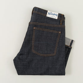Original Fit, 12.5 oz Indigo Selvedge Denim DM001 SPICE Stitch