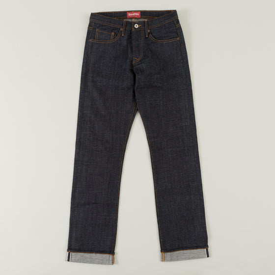 Original Fit, 12.5 oz Indigo Selvedge Denim DM001