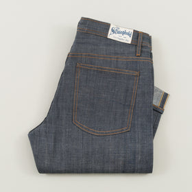 The Stronghold Jeans Original Fit 9 Oz Indigo Selvage Denim Image #1