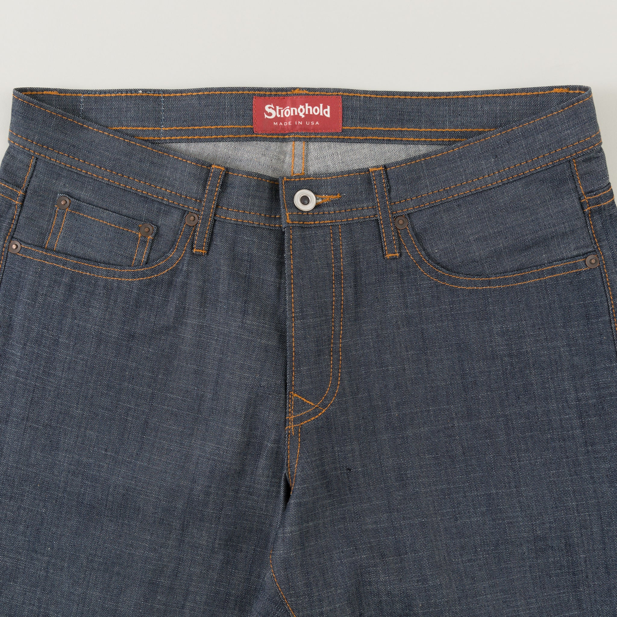 Original Fit 9 Oz Indigo Selvedge Denim The Stronghold