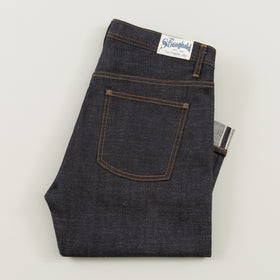 The Stronghold Jeans Slim Heritage 10 5 Oz Indigo Selvage Denim Image #1