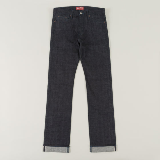 The Stronghold Jeans Slim Straight 10 5 Oz Indigo Selvage Denim W Indigo Stitching Image #1