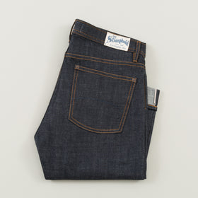 The Stronghold Jeans Slim Straight 10 5 Oz Indigo Selvage Denim W Spice Stitching Image #1