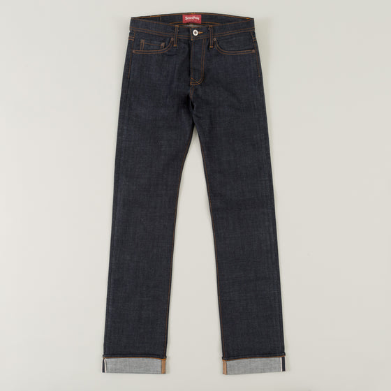 Slim Straight, 12.5 oz Indigo Selvedge Denim