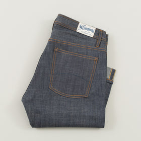 The Stronghold Jeans Slim Straight 9 Oz Indigo Selvage Denim Image #1