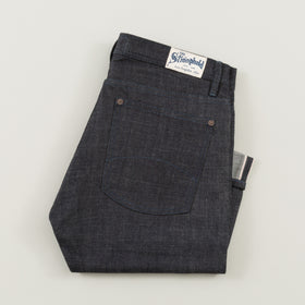 The Stronghold Jeans Slim Tapered 10 5 Oz Indigo Selvage Denim W Indigo Stitching Image #1
