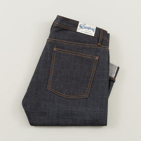 The Stronghold Jeans Slim Tapered 10 5 Oz Indigo Selvage Denim W Spice Stitching Image #1