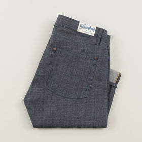 The Stronghold Jeans Slim Tapered 9 Oz Indigo Selvage Denim Image #1