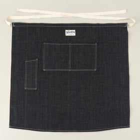 The Stronghold Long Bistro Apron 10 5 Oz Indigo Selvage Denim Image #1