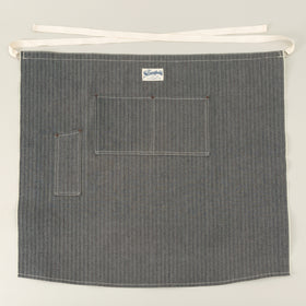 The Stronghold Long Bistro Apron 12 5 Oz Herringbone Selvage Denim Image #1