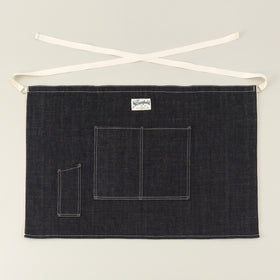The Stronghold Short Bistro Apron 10 5 Oz Indigo Selvage Denim Image #1