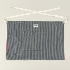 The Stronghold Short Bistro Apron 11 5 Oz Hickory Stripe Selvage Denim Image #1